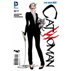 Catwoman (2011) #35 VF/NM Jae Lee Cover The New 52