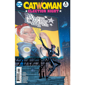 Catwoman: Election Night (2016) #1 VF/NM Shane Davis Cover