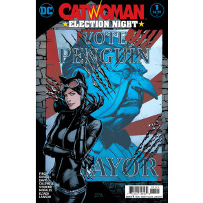 Catwoman: Election Night (2016) #1 VF/NM David Finch Variant Cover