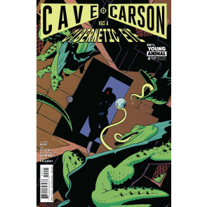 Cave Carson Has A Cybernetic Eye (2016) #4 VF/NM Andrew MacLean Variant Cover