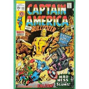 Captain America (1968) #133 FN/VF (7.0)  Modok Origin - Falcon Appearance
