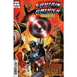 Captain America & the Invaders: Bahamas Triangle (2019) #1 VF/NM Ron Lim Cover
