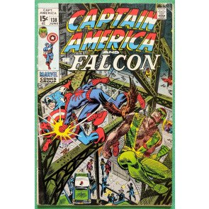 Captain America (1968) & Falcon #138 FN (6.0) vs Spider-Man part 2 of 2