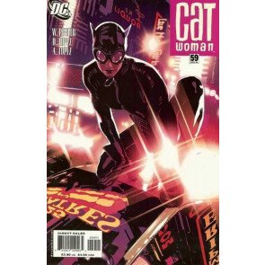 Catwoman (2002) #59 NM Adam Hughes Cover