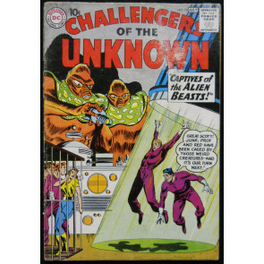 CHALLENGERS OF THE UNKNOWN #14 GD ORIGIN/1ST MULTI-MAN