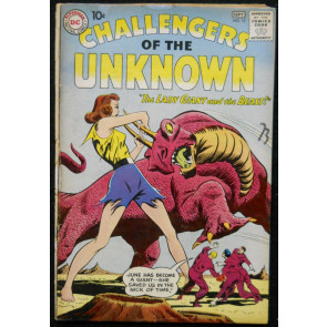CHALLENGERS OF THE UNKNOWN #15 VG
