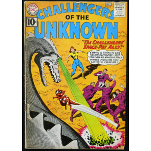 CHALLENGERS OF THE UNKNOWN #21 VG