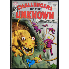 CHALLENGERS OF THE UNKNOWN #22 FN-