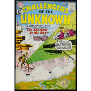 CHALLENGERS OF THE UNKNOWN #23 VG+