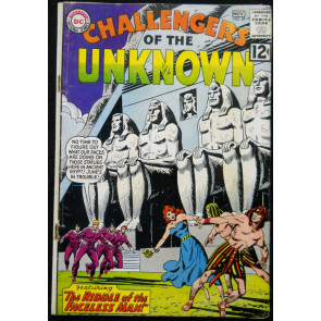 CHALLENGERS OF THE UNKNOWN #28 VG