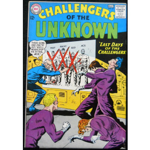 CHALLENGERS OF THE UNKNOWN #37 FN