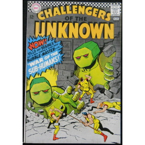 CHALLENGERS OF THE UNKNOWN #54 VF+