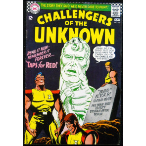 CHALLENGERS OF THE UNKNOWN #55 FN+