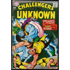 CHALLENGERS OF THE UNKNOWN #57 VG