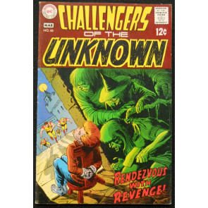 CHALLENGERS OF THE UNKNOWN #66 FN+ NEW LOGO