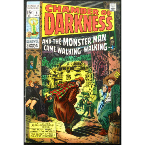 CHAMBER OF DARKNESS #4 VF- CONAN PROTOTYPE SMITH KIRBY MARVEL