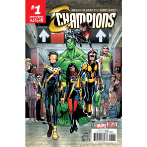 Champions (2016) #1 VF/NM Humberto Ramos Mark Waid Now!