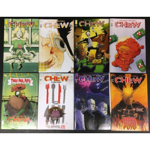 Chew (2009) 39 40 42 46 47 55 60 + one shot lot of 8 comics John Layman Image