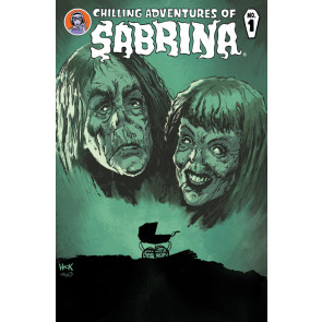 Chilling Adventures of Sabrina (2015) #1 VF/NM Rosemary's Baby Variant Cover