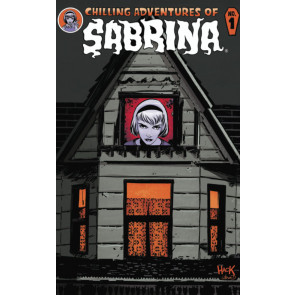 Chilling Adventures of Sabrina (2015) #1 VF/NM Regular Die-Cut Cover Robert Hack