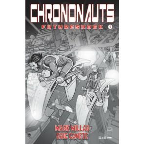 Chrononauts: Futureshock (2019) #1 VF/NM Black & White Cover B Pasqual Ferry