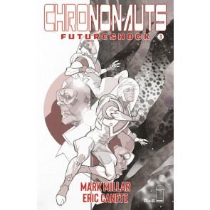 Chrononauts: Futureshock (2019) #3 VF/NM Black & White Cover B Pasqual Ferry