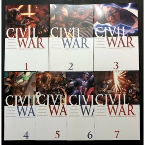 Civil War (2006) #1 2 3 4 5 6 7 NM (9.4) complete set