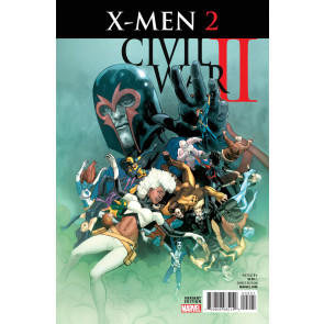 Civil War II: X-men (2016) #2 VF/NM Variant Cover