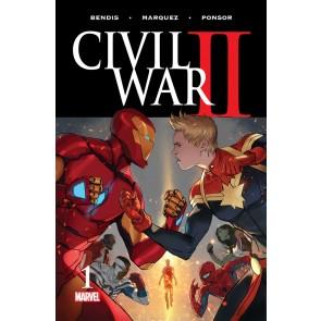 Civil War II (2016) #1 VF+ - VF/NM 1st Printing