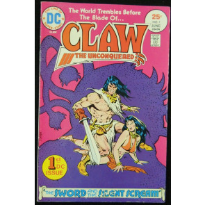 CLAW THE UNCONQUERED #1 GD/VG