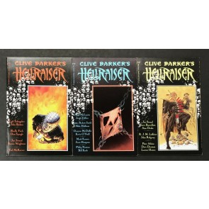 Clive Barker's Hellraiser (1989) #'s 1 2 3 VF/NM Bolton Bisley Sienkiewicz Epic