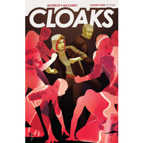 CLOAKS (2014) #3 OF 4 VF/NM FIRST PRINT BOOM!