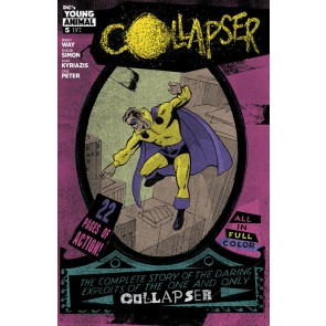 Collapser (2019) #5 VF/NM Ilias Kyriazis Cover Young Animal
