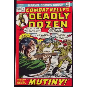 COMBAT KELLY #4 MARVEL COMICS WAR SGT. FURY 1972