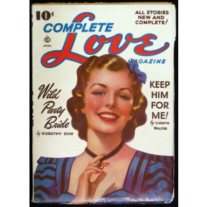 COMPLETE LOVE MAGAZINE VOLUME 7 #1 PULP 1941