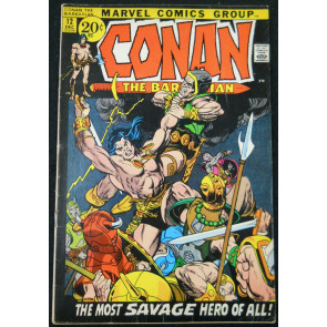 CONAN #12 FN- WRIGHTSON