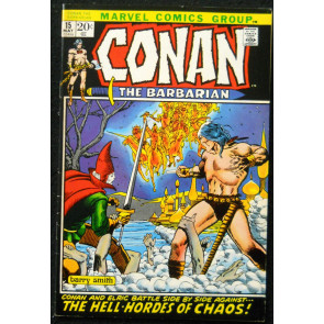 CONAN #15 FN+ BARRY SMITH BLACK PICTURE FRAME COVER