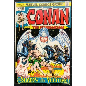Conan (1970) #22 VF+ (8.5) Barry Smith art