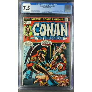 Conan #23 (1973) CGC 7.5 OWW 1st Appearance Red Sonja Movie coming 3742146003|