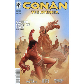 CONAN THE AVENGER (2014) #22 VF/NM DARK HORSE COMICS