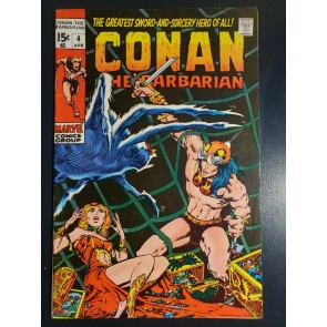 Conan the Barbarian #4 (1971) F/VF (7.0) Classic Barry Windsor Smith Art copy 1|