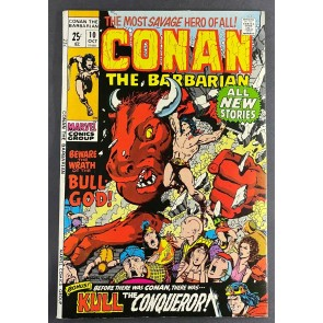 Conan the Barbarian (1970) #10 VF+ (8.5) Barry Windsor-Smith Cover and Art
