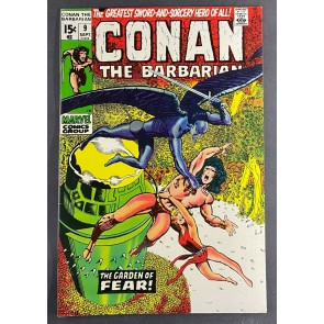 Conan the Barbarian (1970) #9 VF+ (8.5) Barry Windsor-Smith Cover and Art
