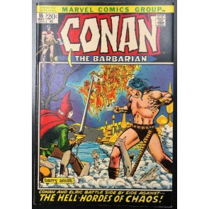 Conan the Barbarian (1970) #15 VF- (7.5) Barry Windsor-Smith Cover and Art