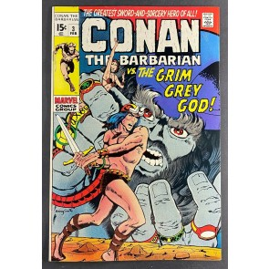 Conan the Barbarian (1970) #3 VF+ (8.5) Barry Windsor-Smith Cover and Art