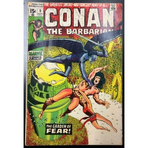 Conan the Barbarian (1970) #9 GD/VG (3.0) Barry Windsor-Smith Cover and Art