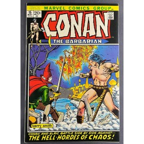 Conan the Barbarian (1970) #15 NM- (9.2) Elric App Barry Windsor-Smith