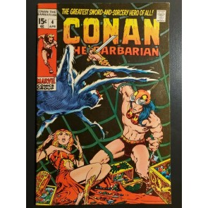 Conan the Barbarian #4 (1971) VF/NM (9.0) Classic Barry Windsor Smith Art|