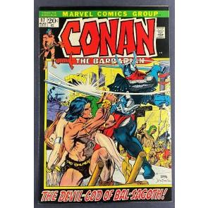 Conan the Barbarian (1970) #17 FN+ (6.5) Frank Brunner Gil Kane
