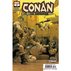Conan the Barbarian (2019) #3 VF/NM Ribic Cover